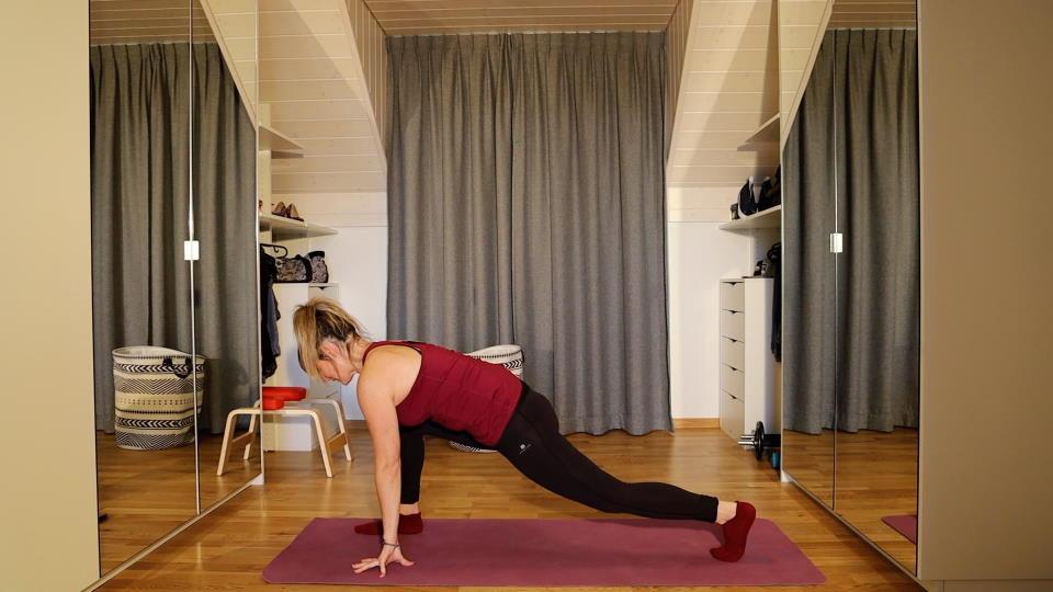 Stretching – 21′